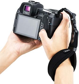 JJC DSLR Camera Hand Strap with U Plate Compatible with Nikon D850 D810 D750 D610 D7500 D7200 D7100 D5600 D5500 D3500 D3400 Canon 6D Mark II 7D Mark II EOS 5D Mark IV III 5Ds 5DsR 80D 77D 70D 60D