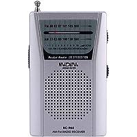 FM/Am 2 Banda de Radio Estéreo, Portátil Mini