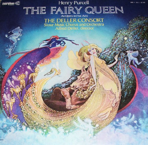 - Henry Purcell: The Fairy Queen/The Deller Consort/Stour Music Chorus and Orchestra/Alfred Deller - VINYL RECORD