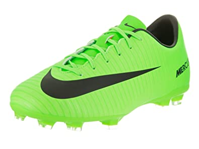Nike Kids Jr Mercurial Victory VI Fg Electric Green Black Soccer Cleat 2  Kids US  Buy Online at Low Prices in India - Amazon.in c0f2a25ac3