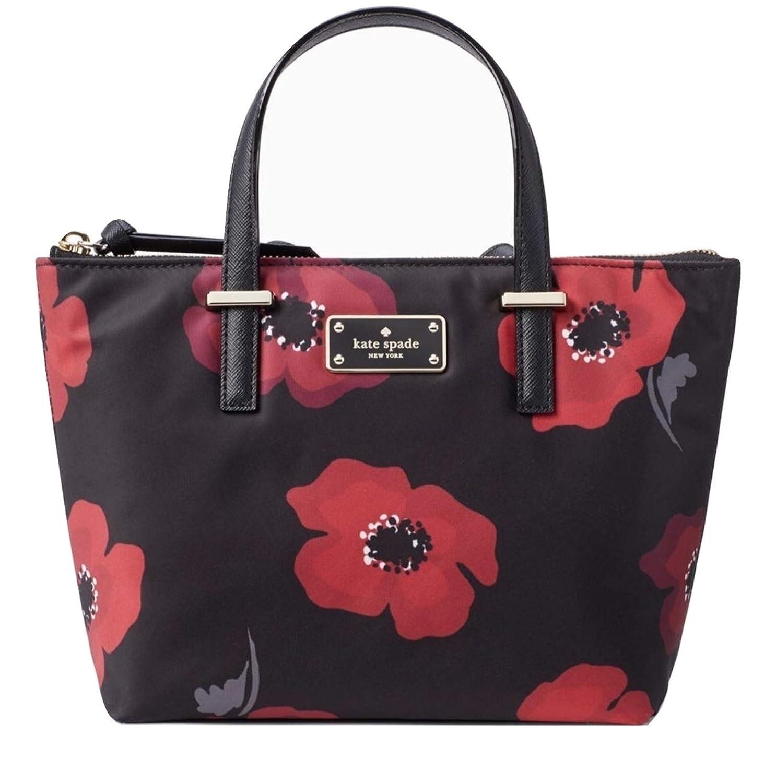 Kate Spade Poppy Wilson Road Adalyn Handbag Multi Nylon Small Wkru5539