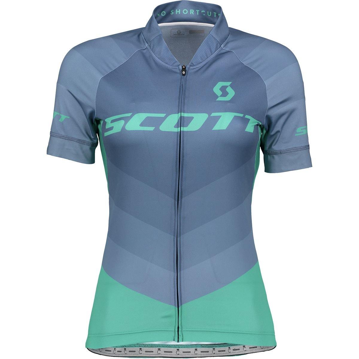 スコットRC Pro Jersey – Women 's Small Ensign Blue/Baltic Turquoise B07C3VZZNB