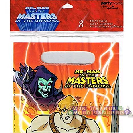Amazon.com: He-Man Favor Bags (8ct): Toys & Games