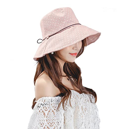 Sun Hats for Women Beach Hat Ladies Vacation Summer Wide Brim Floppy Hat  Sunhat (Baby 66caa8fb92ee
