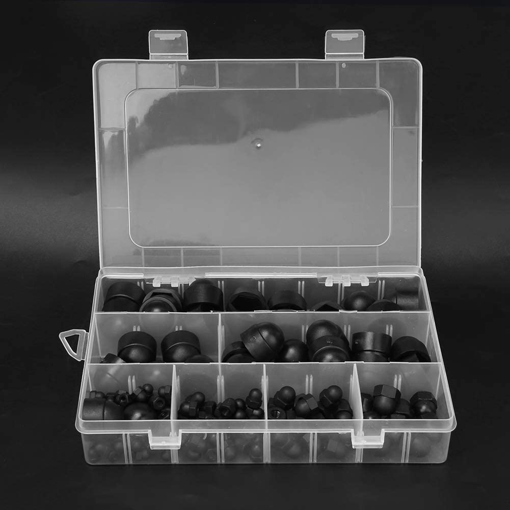 M5 Protection Cap for Furniture Fasteners Mechanical Fasteners M8 M12 Nut Cover M6 Portable 6 Models 145 PCS M4 Sugoyi Dome Cap M10