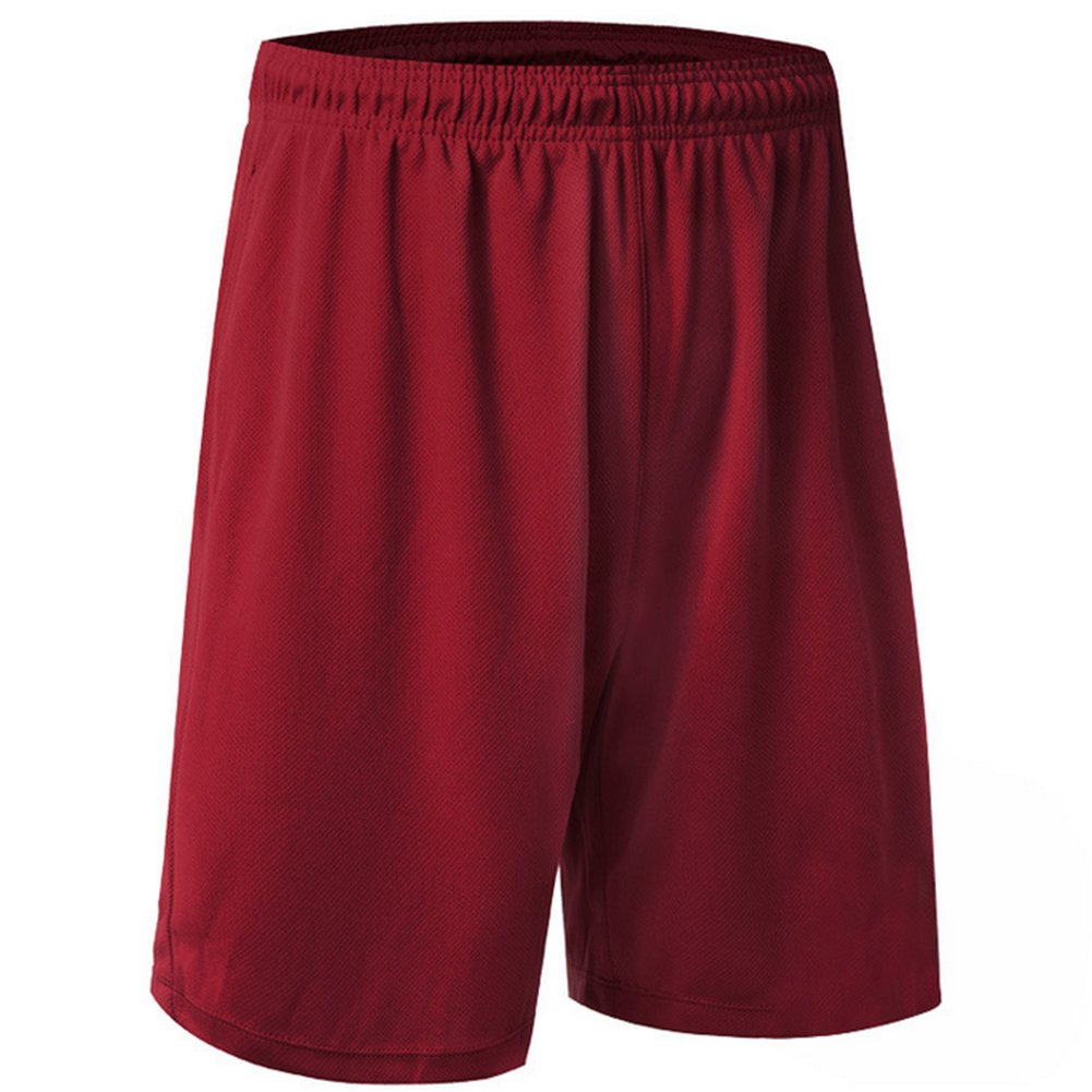 TopTie Big Boys Youth Soccer Short, 9' Running Shorts with Pockets