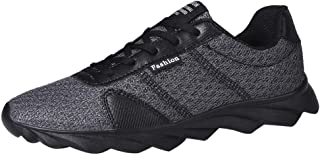 Kinlene Baskets Respirant Tout-Aller pour Hommes en Mesh avec Amortisseurs, Chaussures De Course, Chaussures AntidéRapantes Sneakers Casual Mesh Respirant Chaussures De Course à Lacets