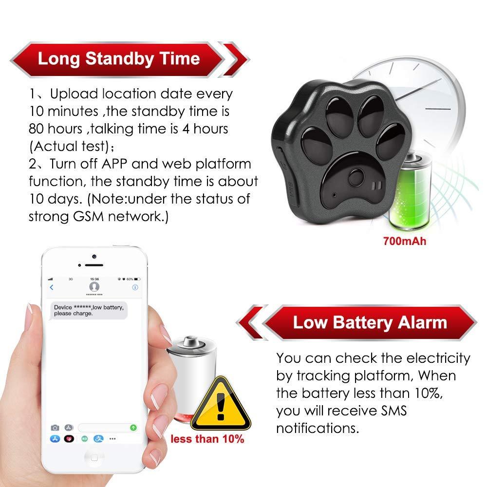 Amazon.com: WLDOCA 3G Dog GPS Tracker Finder,GPS/WiFi/LBS ...
