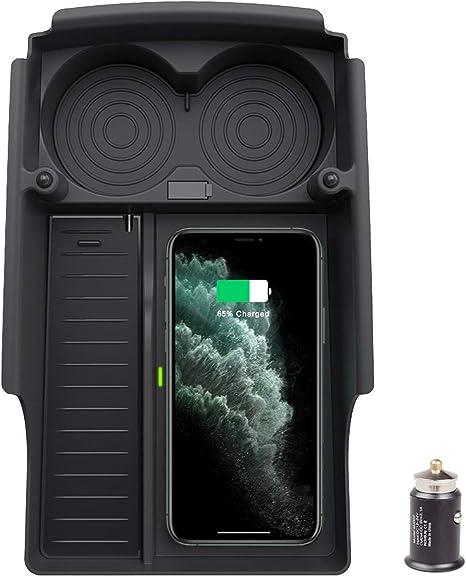 Amazon Com Taptes Tesla Model S X Wireless Qi Phone Charger