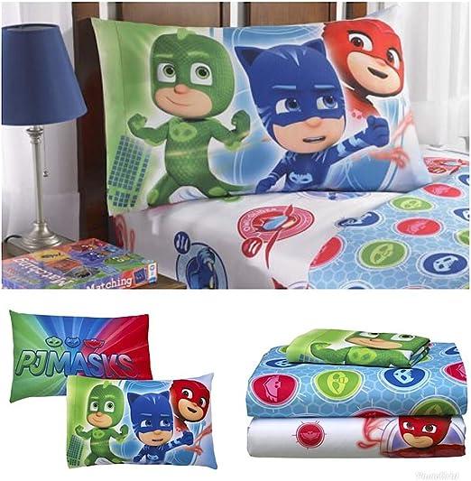 Juego de sábanas PJMask Disney para niños: Amazon.es: Hogar
