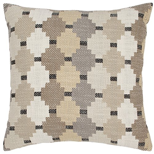 Stone & Beam Southwestern Diamond Patterned Decorative Throw Pillow, 17