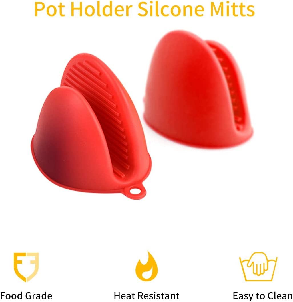 LINGSFIRE Steam Diverter Cabinet Savior 2 Pack Pressure Release Accessory Compatible with Instant Pot Includes 2 Mini Mitts Pot Holder Gloves for Pressure Cooker