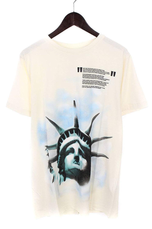 (オフホワイト) OFF-WHITE 【18AW】【WHITE LIBERTY S/S T-SHIRT】リバティープリントTシャツ(S/ホワイト) B07FQNL31Y  -