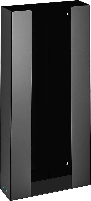 1 Box Capacity AdirMed Black Acrylic Glove Box Dispenser