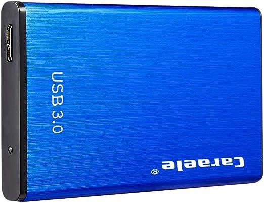 Almencla 外付けハードドライブ 2TB/1TB/500GB 2.5インチ USB3.0 SATA HDDモバイルハードディスク 高速転送 ブルー - 2T