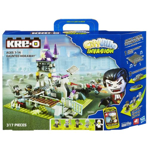 KRE-O CityVille Invasion Haunted Hideaway Set (A3247)