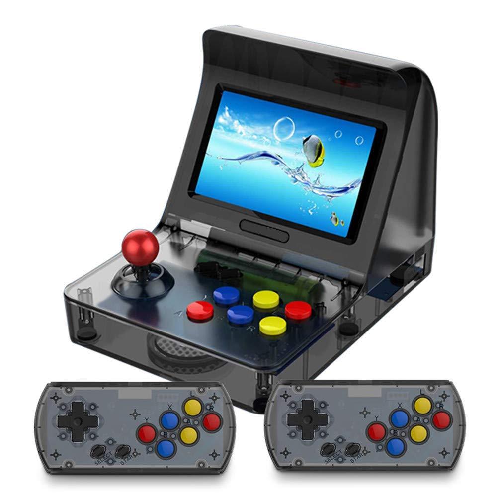 Bescita Doppelte Spielekonsole Erbaut im Spiel 3000 Kindheit Classic Spielkonsolen Handheld Game Player Geschenk für Kinder New