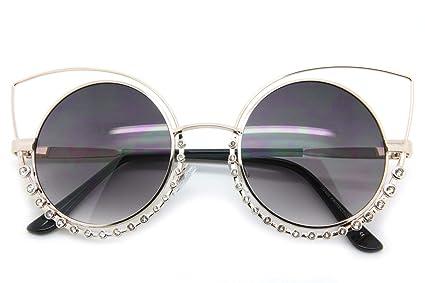 Amazon.com: Black On Gold - Gafas de sol para mujer, diseño ...