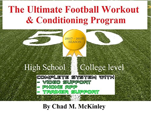 [Free] The Ultimate Football Workout & Conditioning Program: How to acquire advanced level football skills<br />T.X.T