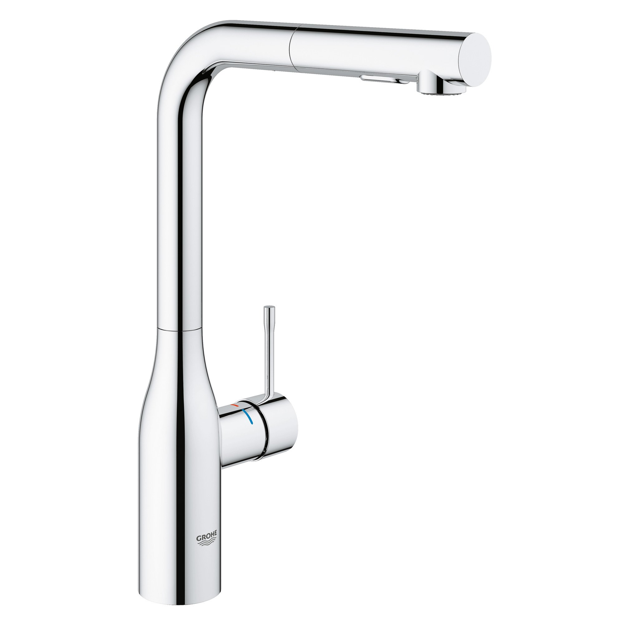 Essence New Single-Handle Pull-Out Kitchen Faucet with Dual Spray by GROHE
