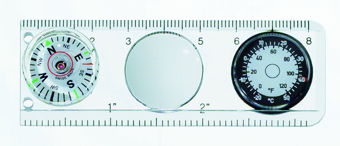 Victorinox Compass/Ruler, Magnifying Glass, Thermometer