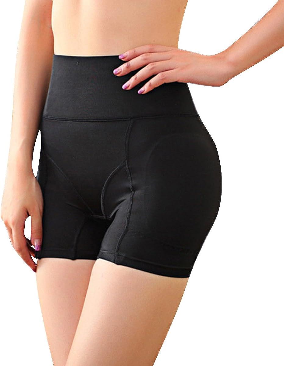 Defitshape Womens Butt Lifter Shapewear Panties Padded High Waist Hip Enhancer Shaper Panty