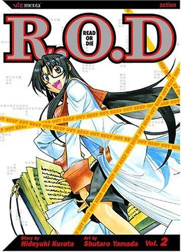 (Read or Die, Vol. 2 (R.O.D.: Read or)