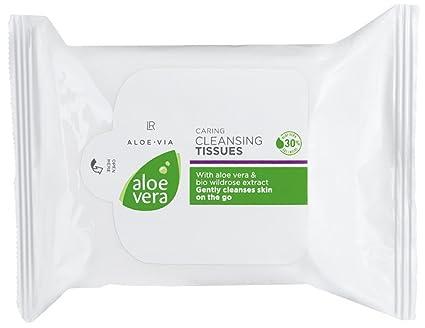LR Aloe Via Aloe Vera – Toallitas limpiadoras 25 unidades