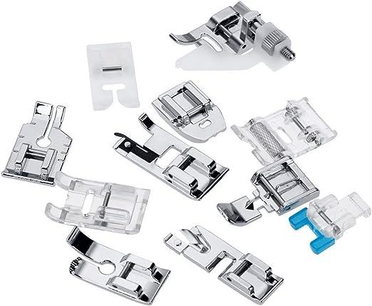 11 piezas Multifuncionales Máquina de Coser pie Conjunto de ...