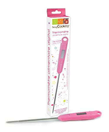 ScrapCooking Digital Food Thermometer