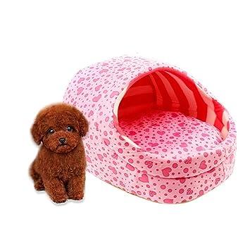 Cosante Pantuflas Hermosas Soft Cachemira Cachorro De Perro Caliente, Cama Gato Rosa 1 Pcs: Amazon.es: Deportes y aire libre
