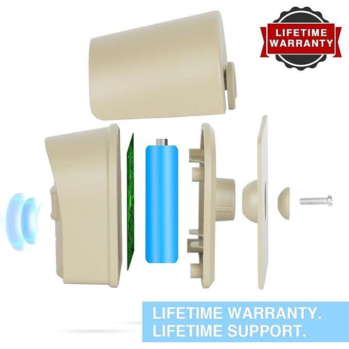 ... al aire libre sistema de alarma inalámbrico de movimiento/La entrada y parte superior resistente al agua IP66 SENSOR de movimiento y Detector, ...