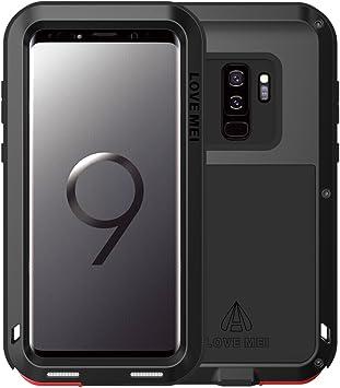 Love Mei - Funda Compatible con Samsung Galaxy S9 Plus Metal ...