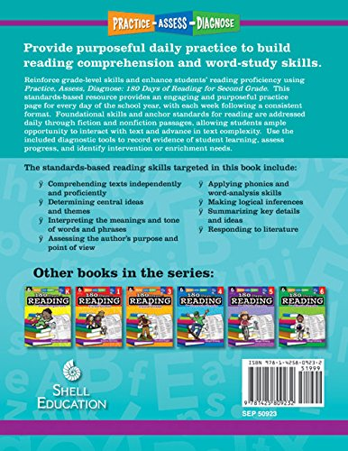 Amazon.com: 180 Days of Reading for Second Grade (180 Days of ...
