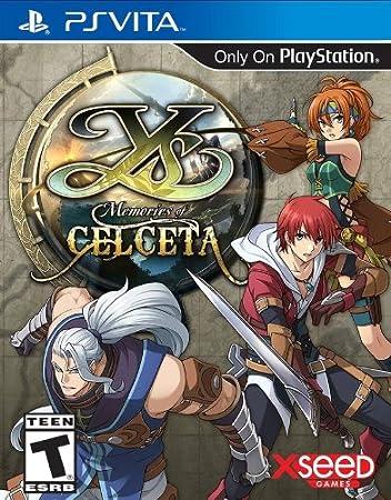 Ys: Memories of Celceta - PlayStation Vita