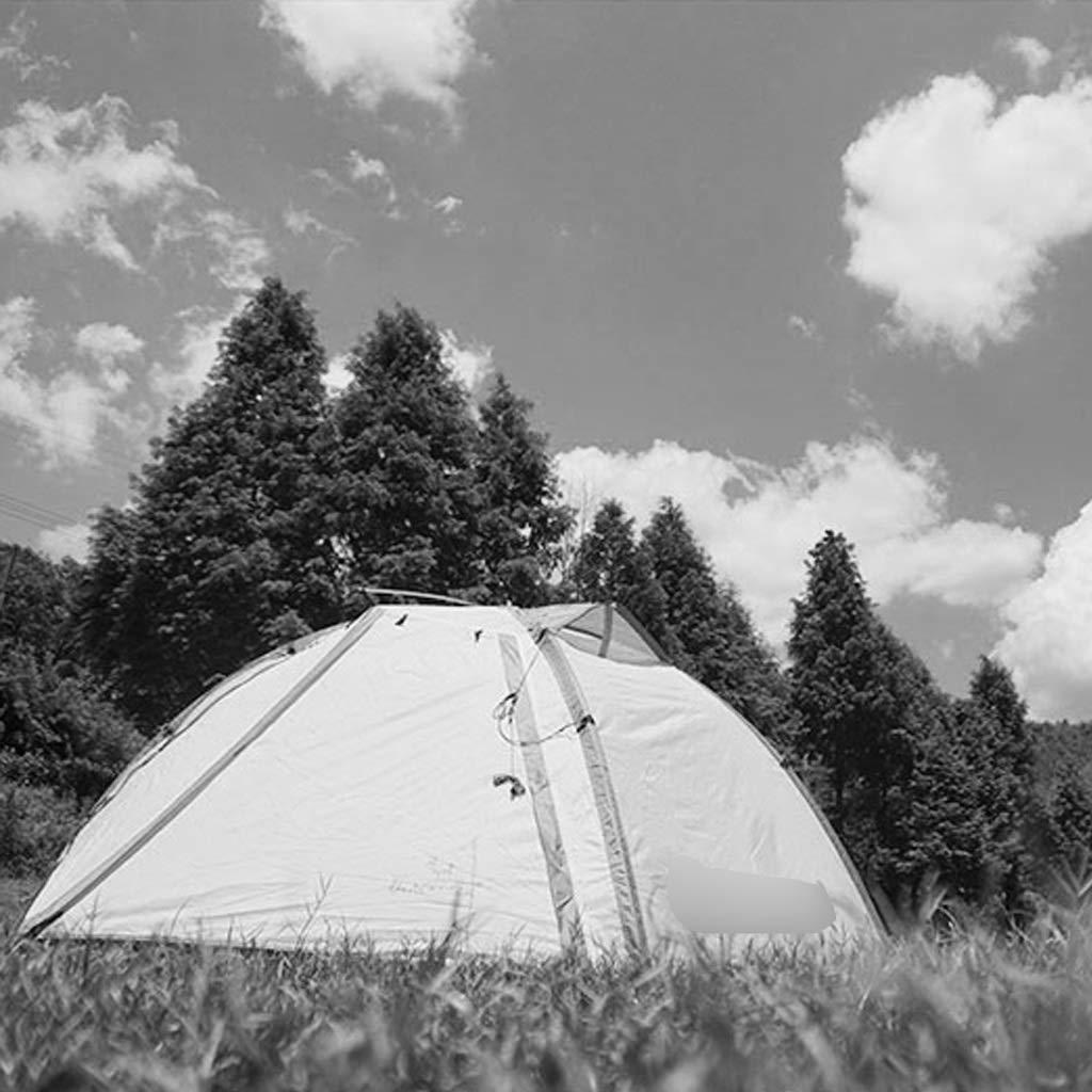 YaNanHome Zelt im Freien Zelt Regen wasserdicht Zelt Doppel-Aluminium-Zelt Zelt Zelt 1-2 Personen Camping Zelt Zelt Wandern Zelt (Farbe   Yellow, Größe   210  140  110cm) f91efb