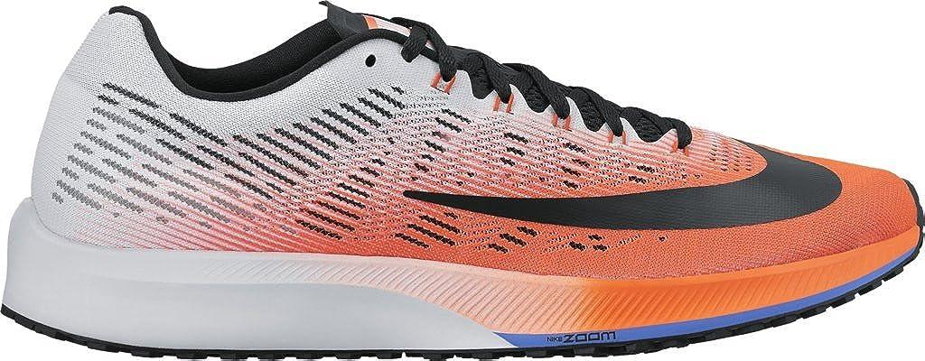 8fc59721010 Nike Men s Air Zoom Elite 9 Hyper Orange Black-White-Medium Blue 12. 0  Buy  Online at Low Prices in India - Amazon.in