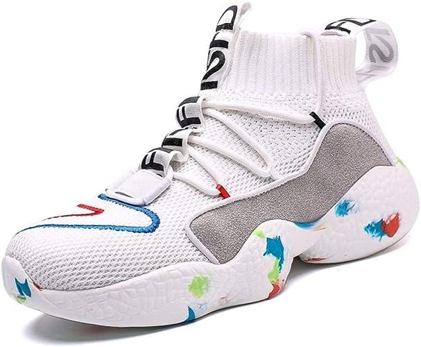 Zapatillas de Baloncesto para Hombre Zapatillas de Deporte al Aire ...