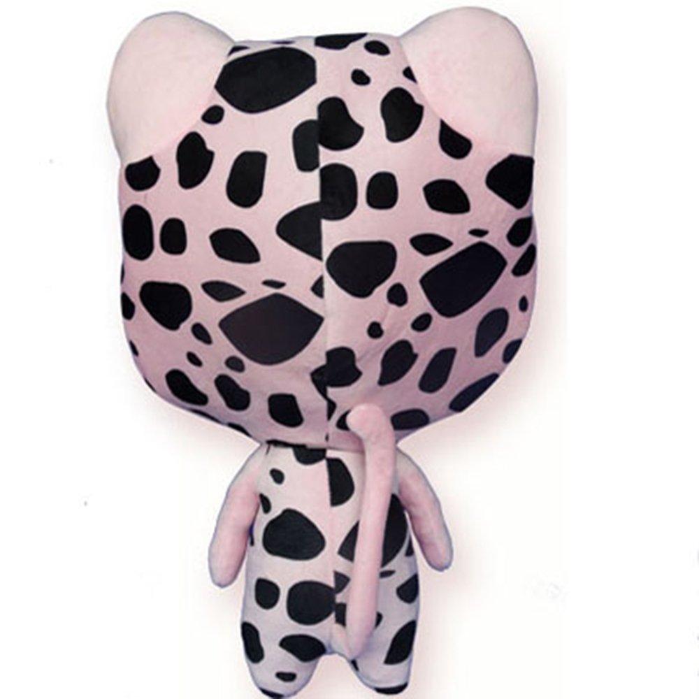 Rain's Pan Anime Fairy Tail Frosch Cosplay Plush Pillow Cushion Toy Dolls Pink 23'' by Rain's Pan Plush Toy Pillows (Image #3)