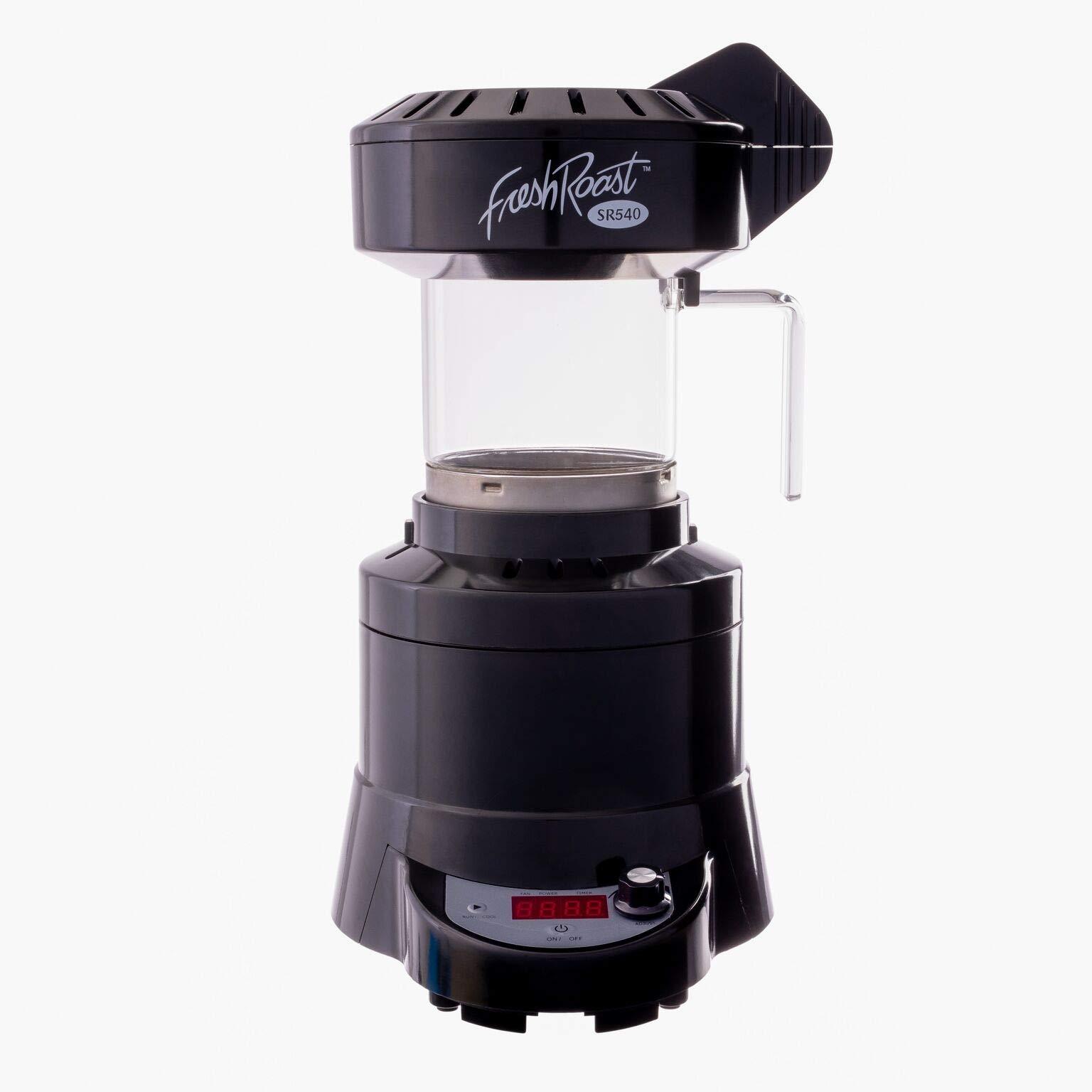 FreshRoast SR540 (4.6oz) Home Coffee Roaster + free green coffee sampler