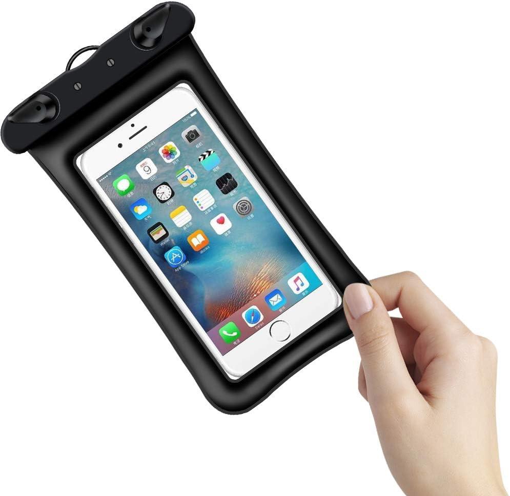 levliong Waterproof Bag Case, Mobile Phone Bag Swim Case Take ...