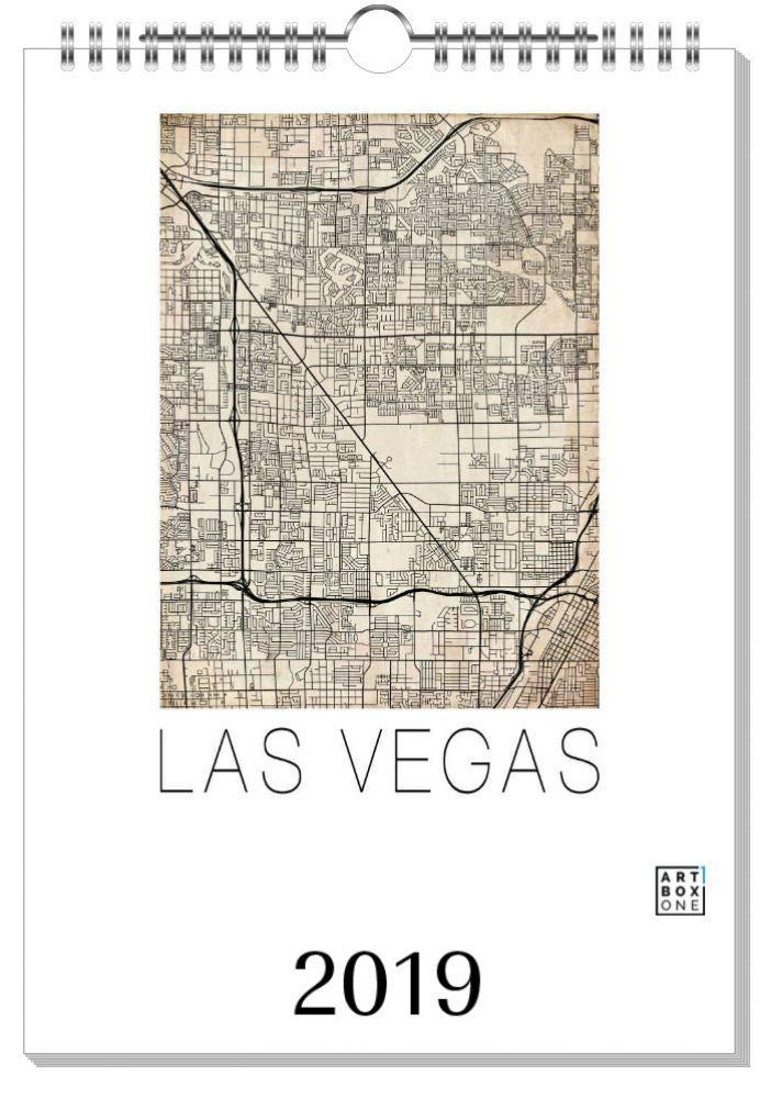 ArtboxONE Kalender 2019 Las Vegas Wandkalender A2 Städte Las Vegas B07H93QTYH    | Wirtschaftlich und praktisch