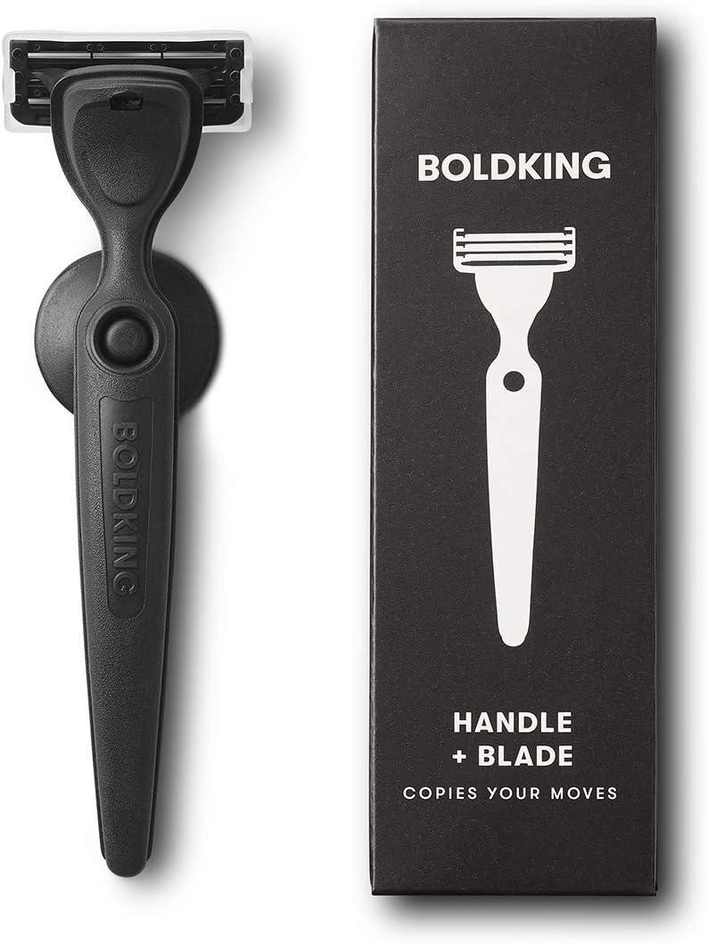 Boldking Razor - Mango y 1 cuchilla de afeitar: Amazon.es: Salud y ...