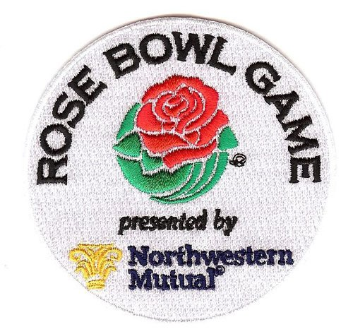 Rose Bowl Game Jersey Patch Presented by Northwestern Mutual Oklahoma vs. Georgia (2018)