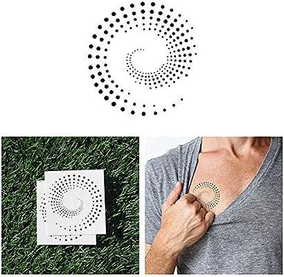 Tatuaje Temporal Tattify - Círculo punteado - Círculo y puntos ...
