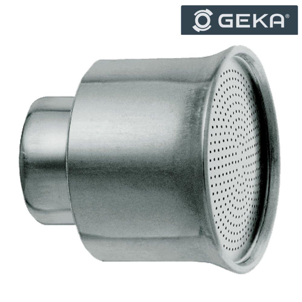 Geka 399LMSB Shower Head Soft Rain with Female Thread G 3/4 Bore 0,7mm 51mm, Silver, 18 x 8 x 13 cm KARASTO