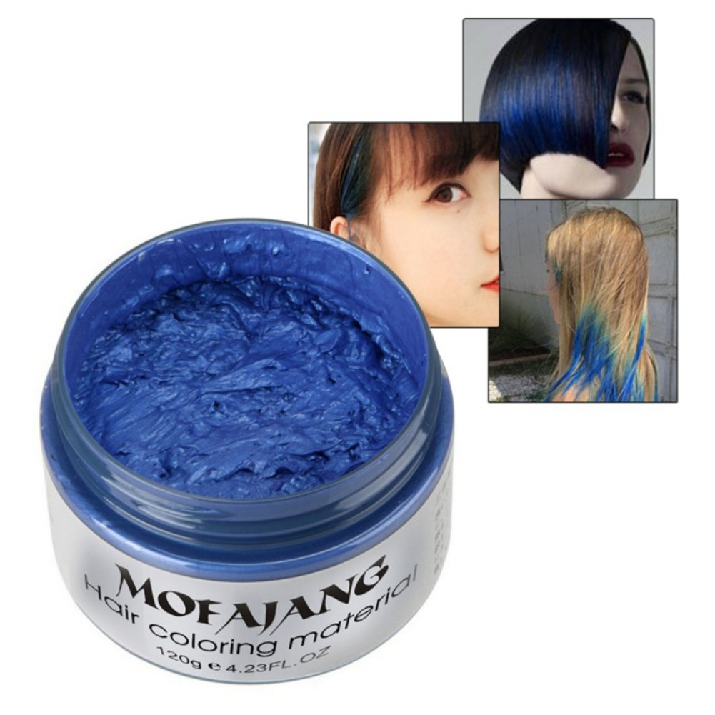 Amazon 7 Colors Hair Wax Hubee Natural Dye Hairstyle Matte