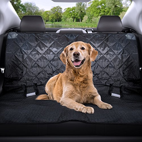 [Premium] DOG CAR SEAT BELT - For Pet Safety Travel- Durable & Easy to Use Harness, Adjustable 17.3 - 30.7 inches, made from High Quality Nylon Fabric!