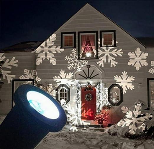 Suerte diosa movimiento luz interior/exterior LED Paisaje ...