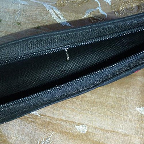 HandicraftsvillaUK Noir pour Pochette Noir femme XnqrXft